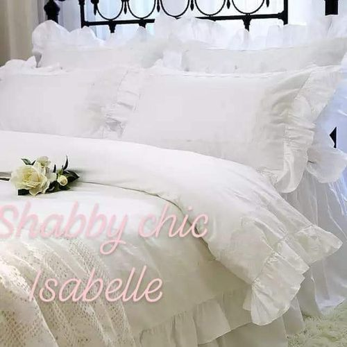 SET ROMANTICO LETTO SHABBY CHIC ISABELLE