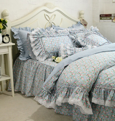 SHABBY CHIC ISABELLE SET BIANCHERIA LETTO COUNTRY CHIC