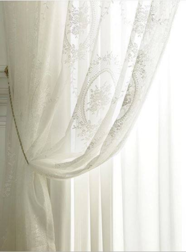 TENDA TULLE VOILE IN  PIZZO  150X260
